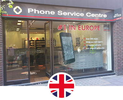 Phone Service Center Angleterre