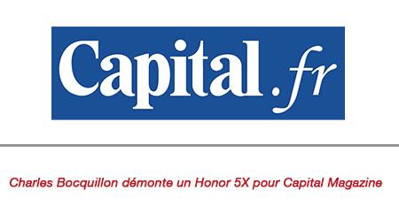 PSM démonte un Honor 5X pour Capital Magazine