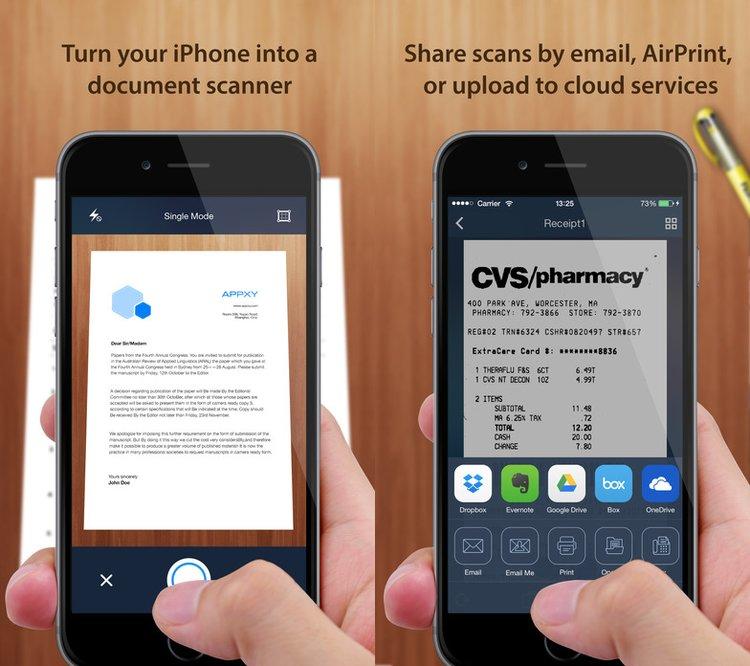 Tiny Scanner, l'application pour scanner vos documents rapidement - Le Blog Mobile & Futé high tech