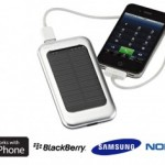chargeur solaire - recharge smartphone